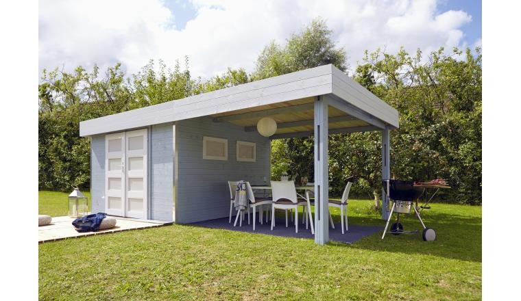 Abri de Jardin en Bois LOUNJ Madeira 16.60 m² Ref 2471