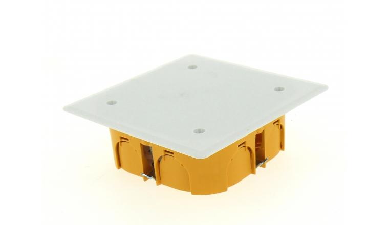 Boîte de Dérivation pour Cloison Sèche - 100 x 100 x 40 mm - Ref 718600 - DEBFLEX