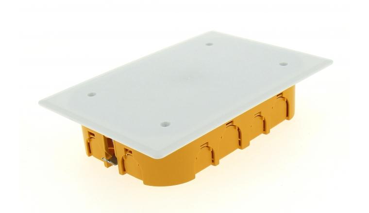 Boîte de Dérivation pour Cloison Sèche - 170 x 110 x 40 mm - Ref 718610 - DEBFLEX