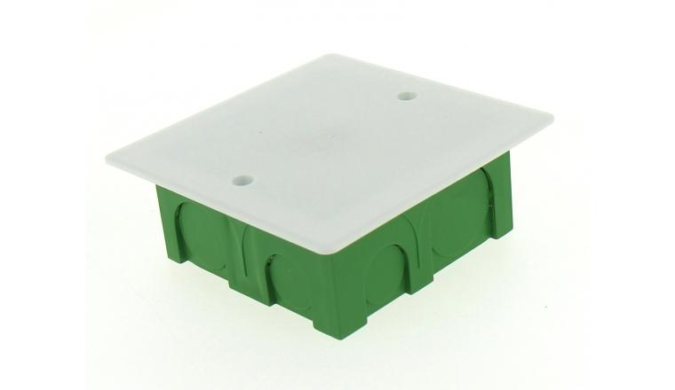 Boîte de Dérivation pour Cloison Pleine - 90 x 90 x 40 mm - Ref 718510 - DEBFLEX