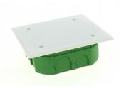 Boîte de Dérivation pour Cloison Pleine - 100 x 100 x 40 mm - Ref 718520 - DEBFLEX