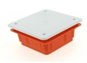 Boîte de Dérivation pour Cloison Pleine - 92 x 92 x 45 mm - Ref 120230