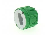 Boîte Luminaire pour Cloison Pleine Sans Douille - 54 x 40 mm - Ref 120195