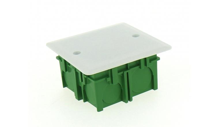 Boîte de Dérivation pour Cloison Pleine - 75 x 75 x 40 mm - Ref 718500 - DEBFLEX