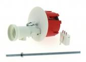 Boîte Luminaire pour Cloison Sèche Avec Douille - 62 x 50 mm - Douille E27 - Tige Fileté - Ref 718906 - DEBFLEX