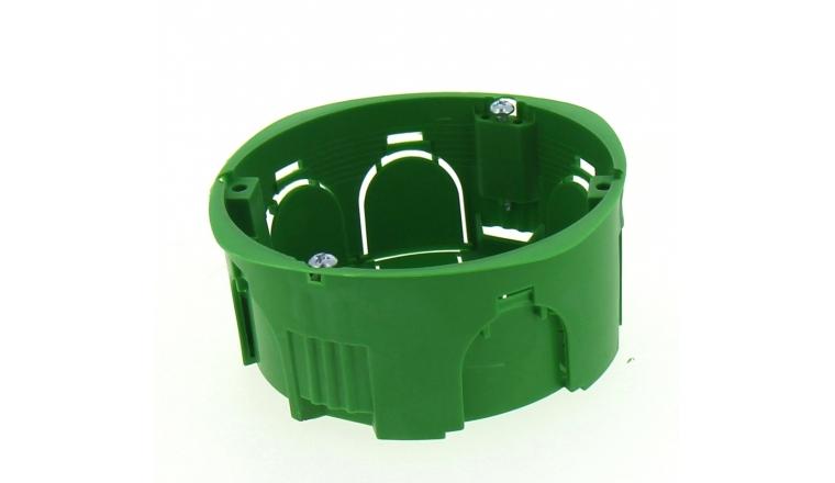 Boîte d\'encastrement Simple pour Cloison Pleine - 85 x 40 mm - Ref 718430 - DEBFLEX