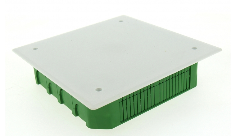 Boîte de Dérivation pour Cloison Pleine - 170 x 170 x 45 mm - Ref 718530 - DEBFLEX