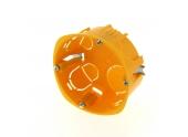 Boîte d\'encastrement Simple pour Cloison Sèche - 85 x 40 mm - Ref 718370 - DEBFLEX