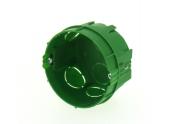 Boîte d'encastrement simple pour Cloison Pleine - Ø 65 mm- DEBFLEX