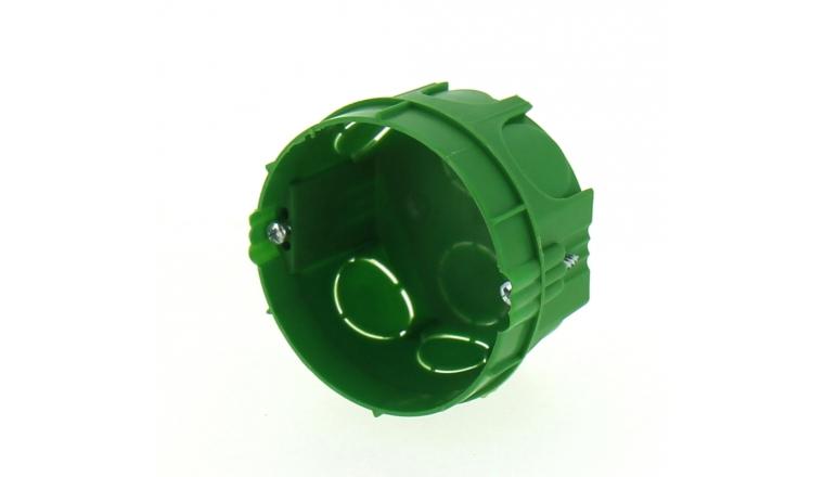 Boîte d\'encastrement simple pour Cloison Pleine - Ø 65 mm- DEBFLEX