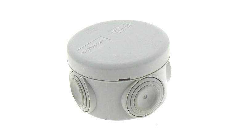 Boîte de Dérivation Etanche IP 55 - 4 Entrées - 70 x 40 mm - Ref 718000 - DEBFLEX