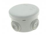 Boîte de Dérivation Etanche IP55 - 4 Entrées - 80 x 45 mm - Ref 718010 - DEBFLEX
