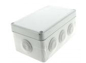 Boîte de Dérivation Etanche IP55 - 8 Entrées - 170 x 105 x 70 mm - Ref 718050 - DEBFLEX