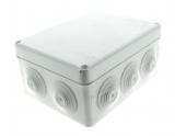 Boîte de Dérivation Etanche IP55 - 10 Entrées - 170 x 140 x 70 mm - Ref 718060 - DEBFLEX