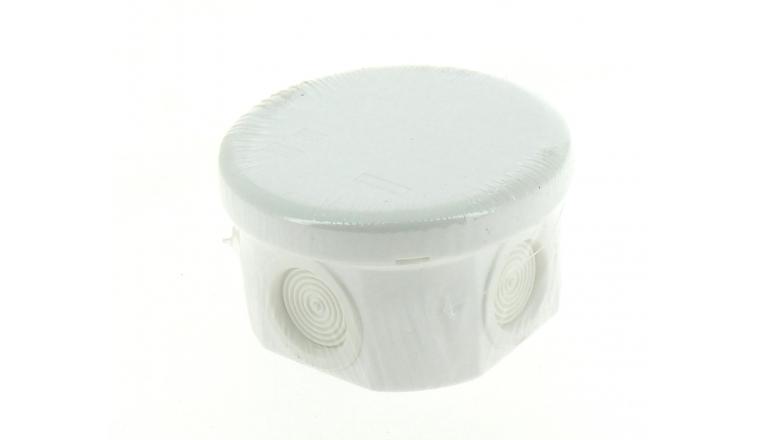 Boîte de Dérivation Etanche IP55 - 6 Entrées - 80 x 45 mm - Ref 718230 - DEBFLEX