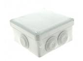 Boîte de Dérivation Etanche IP55 - 8 Entrées - 115 x 115 x 55 mm - DEBFLEX