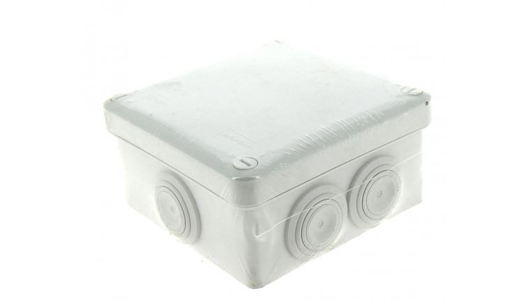 Boîte de Dérivation Etanche IP55 - 7 Entrées - 105 x 105 x 45 mm - DEBFLEX