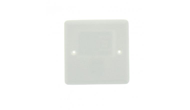 Couvercle de Boîte de Dérivation - 90 x 90 mm - Ref 718650 - DEBFLEX