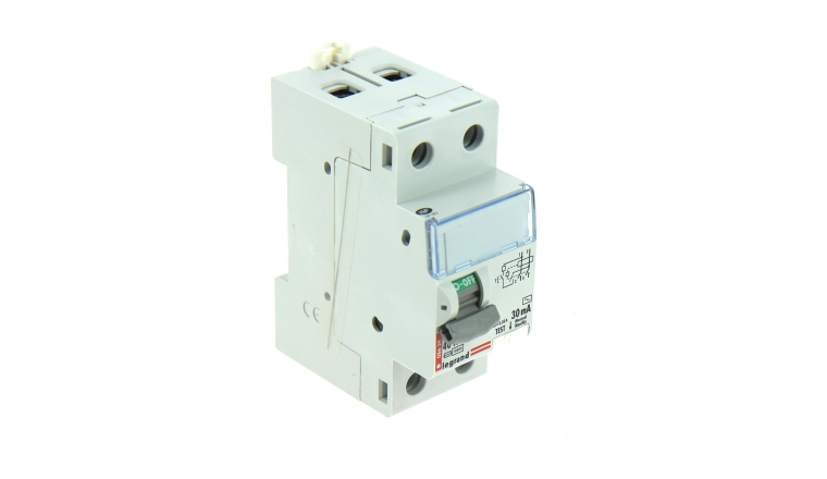 Interrupteur Différentiel Type AC 40A - 230V - 84 x 55 x 35 mm - Ref 92839 - LEGRAND