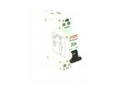 Disjoncteur à Phase Neutre 20A - 230V - 84 x 66 x 18 mm - 707042 - DEBFLEX