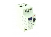 Interrupteur Différentiel Type AC 40A - 230V - 84 x 74 x 33 mm - Ref 707471 - DEBFLEX