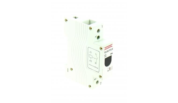 Télérupteur Unipolaire 16A - 230V - 84 x 66 x 18 mm - Ref 707552 - DEBFLEX