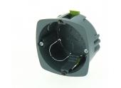 Boîte d'encastrement Simple Multimatériaux - 67 x 40 mm - Ref 718743 - DEBFLEX