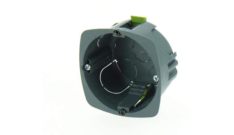 Boîte d\'encastrement Simple Multimatériaux - 67 x 40 mm - Ref 718743 - DEBFLEX