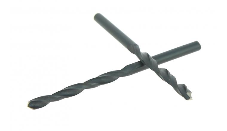 Lot de 2 Forets Acier Pro Ø 4.5 mm - Longueur 80 mm - Ref 3007E000450 - Riss