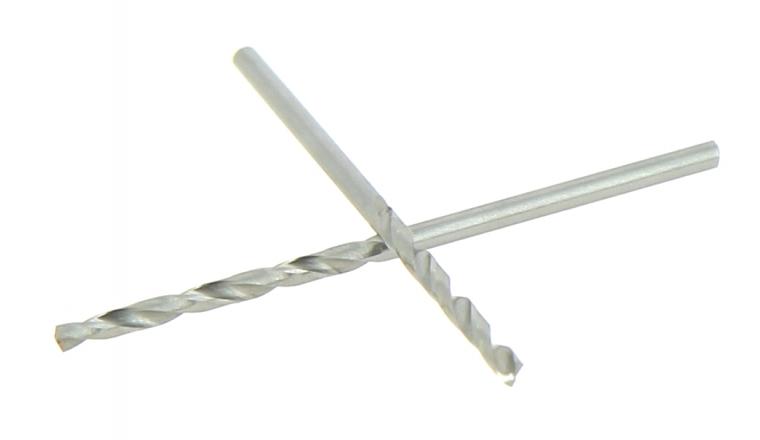 Lot de 2 Forets HSS Acier Ø 2 mm - Longueur 50 mm - Ref 302XE000200 - Riss