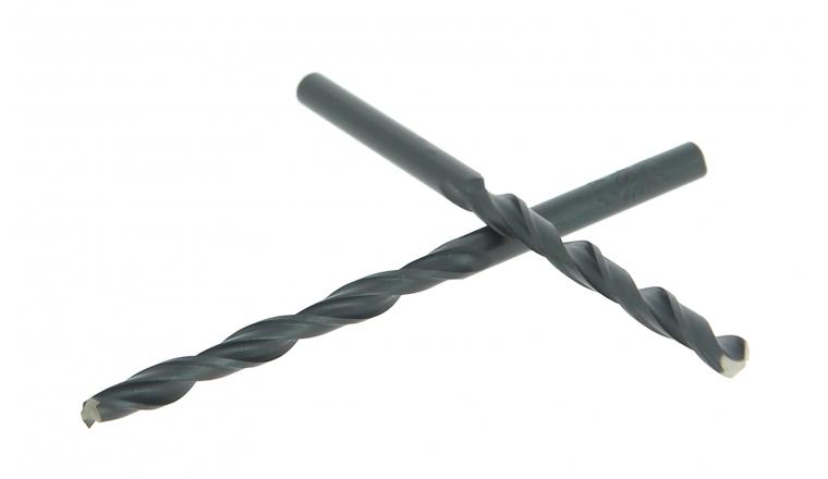 Lot de 2 Forets Acier Pro Ø 4.2 mm - Longueur 75 mm - Ref 3007E000420 - Riss
