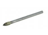 Foret Spécial Verre Ø 6 mm - Longueur 75 mm - Ref 5090E000600 - Riss