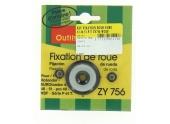 Kit de Fixation Roue ZY 756 pour Tondeuse Eutotondor et Rotondor - Wolf