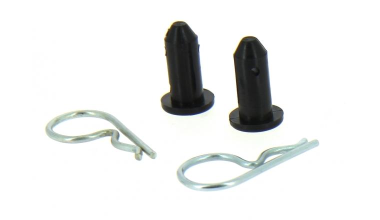 Lot de 2 Kit Goupilles / Mancherons pour Tondeuses Electriques et Thermiques - Flymo