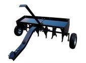 Aérateur Tractée pour Autoportée SP31106 - 1 m - 6 dents - Sentar