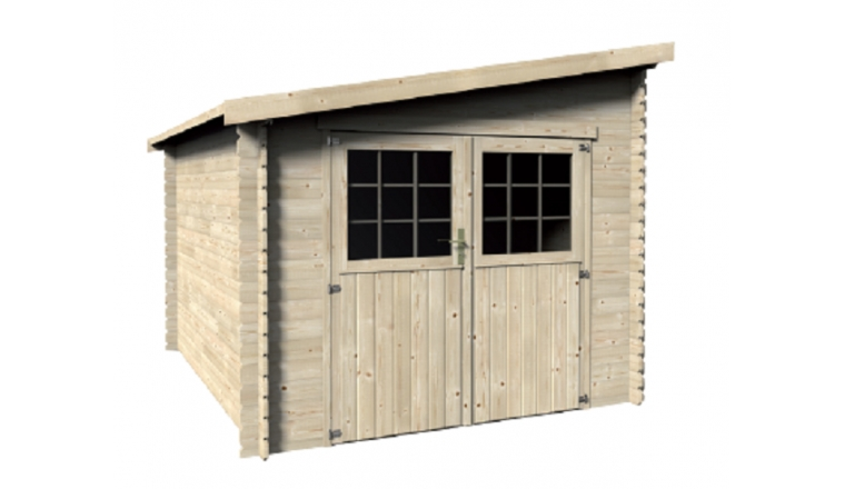 abri de jardin en bois esprit m d cor et jardin ref 62215s900. Black Bedroom Furniture Sets. Home Design Ideas