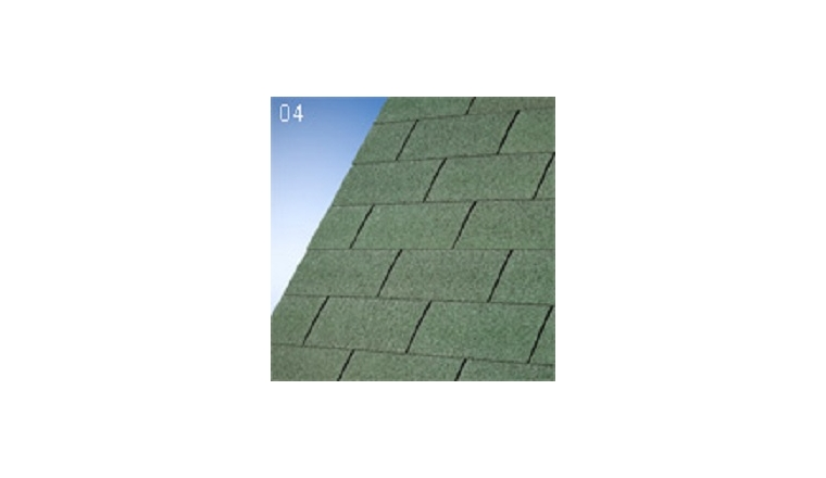 Revêtement de Toit Shingles Vert Décor et Jardin Ref 69516-000