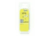Boîte de 1200 Agrafes XP6 - 6 x 11.1 mm - Fischer Darex