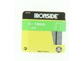Boîte de 870 Agrafes S14 - 14 x 10 mm - Ironside