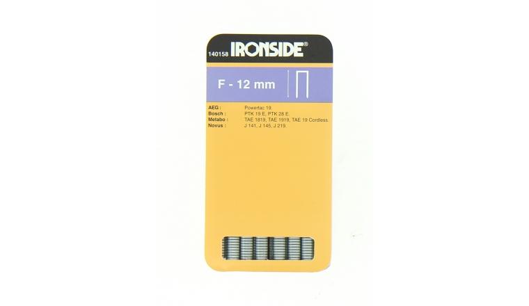 Boîte de 960 Agrafes F12 - 12 x 6 mm - Ironside