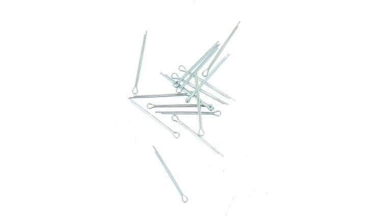 Sachet de 15 Goupilles Fendues Bichromaté Ø 2 x 32 mm - Vigouroux