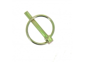 Goupille Clips en Acier Bichromaté - Ø 4.5 à 11 mm - Vigouroux