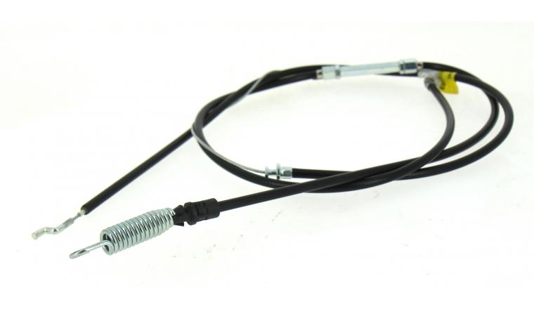 Câble Commande Embrayage de Lame pour Tondeuse Thermique 48 cm - Ref 35568 - Outils Wolf