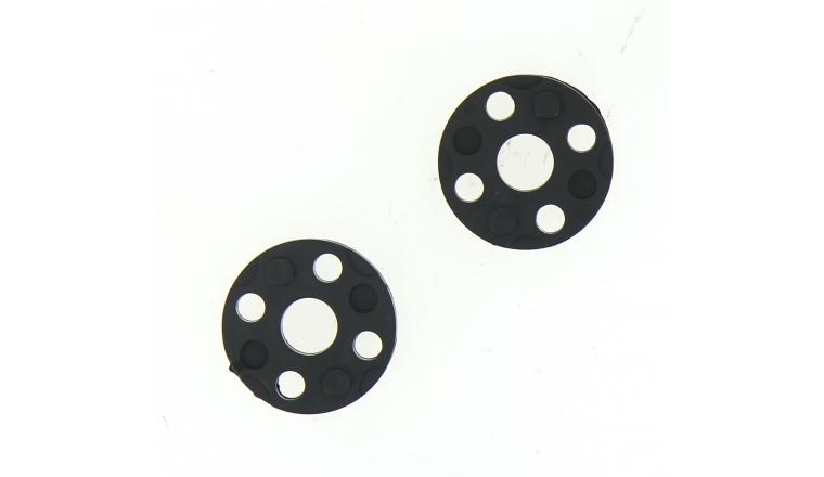 Lot de 2 Rondelles d\'ajustement FLY017 pour Tondeuse Flymo - Ref 513811090 - Flymo