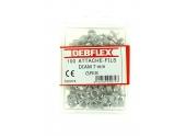 Boîte de 100 Attaches Fils - Ø  7 mm - Gris ou Blanc - Debflex