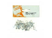 Sachet de 25 Attaches Fils - Ø 5 à 6 mm - Blanc ou Gris - Debflex