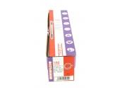 Boîte de 100 Colliers Rilsan Noir - Largeur 9 mm - Longueur 350 mm - Ref 709040 - Debflex