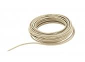 Câble Téléphonique 2 paires Beige 0.6 mm² - Bobine de 10 m - Ref 194328 - Debflex