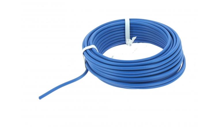 Fil ELectrique H07V-U Bleu 2.5 mm² - Bobine 10 m - Ref 8324582B - Miguelez