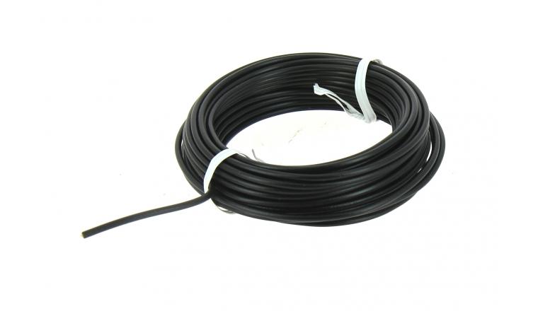 Fil Electrique H07V-U Noir 1.5 mm² - Bobine de 10 m - Ref 8324492B - Miguelez